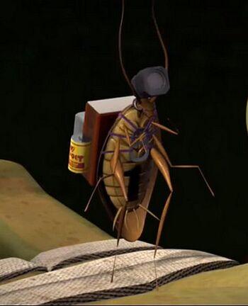 TMNT 12 Spyroach before