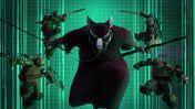 Splinter and the turtles Vs Shredder