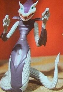 Karai Serpent figure