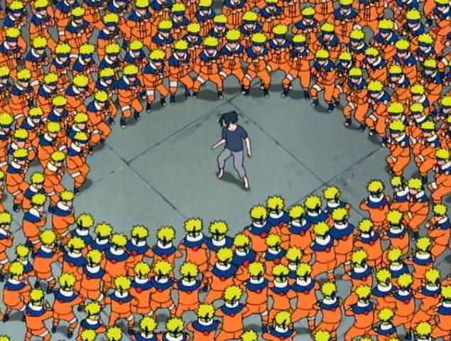 File:Naruto clones vs Sasuke.png