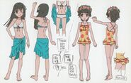 Saten uiharu bikini