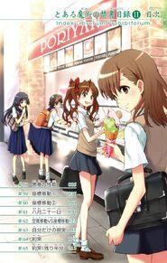 Toaru Majutsu no Index Manga v11 Table of Contents