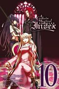 A Certain Magical Index Manga v10 cover