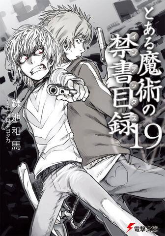 File:Toaru Majutsu no Index Light Novel v19 cover.jpg