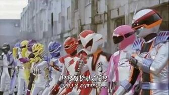 Power Rangers Jungle Fury Team Up Opening