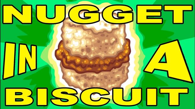 File:Nugget in a biscuit biscuit .jpg
