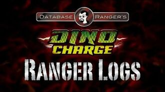 """Database Ranger's Dino Charge Ranger Logs DC01 """"Powers from the Past"""""""