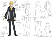 Harutora Male Uniform Design