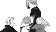 Touka hugs ghoul kids