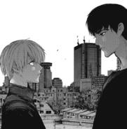 Amon meet Kaneki