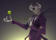 Halloween illustration of Sasaki