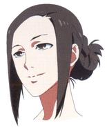 Anime design of Irimi's face