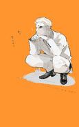 Naki illustration from Ishida's twitter
