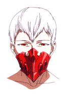 Anime design of Tatara's face