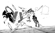 Naki interrupt the fight.