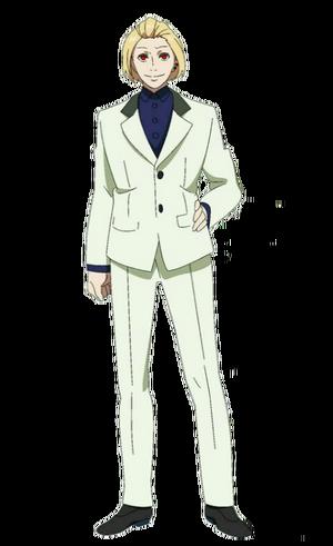 Naki anime design front view