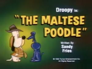 The Maltese Poodle title
