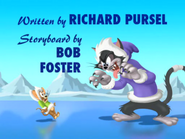 Polar Peril - Title card with Butch scaring Jerry