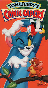 File:Tom and Jerry Comic Capers VHS.jpg
