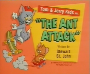 The Ant Attack title