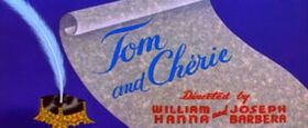 Tom and Cherie cartoon