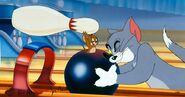 Tom and Jerry Bowling Alley Cat