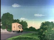 The Hypochondriac Lion - Pet Vet truck close up