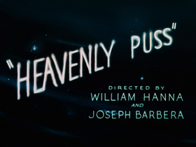 Heavenly Puss Title