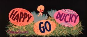 Happy Go Ducky Title Card