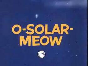 O-Solar Meow Title Card