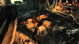 Tomb Raider (2013) Scavenger's Den Puzzle