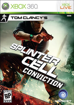 Conviction for Xbox 360 cover