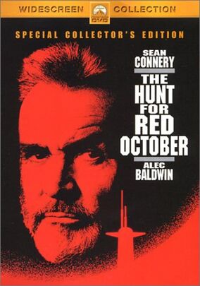 The Hunt for Red October DVD Cover