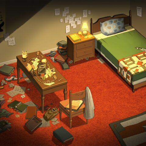 Wirt's bedroom