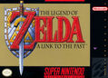 The Legend of Zelda A Link to the Past SNES Game Cover