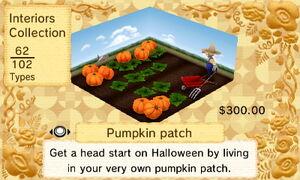 Pumpkin Patch interior