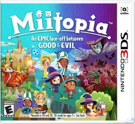 Miitopia Cover