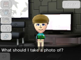 Mii asks what type of picture should they take