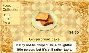 Gingerbread Cake (US)