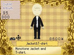Jacket and T Shirt