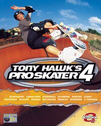 Game Cover THPS4