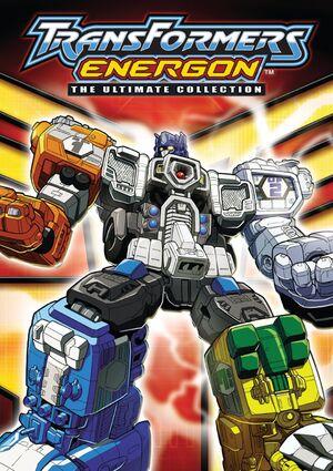 Transformers Energon DVD