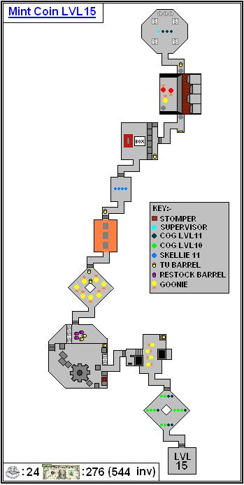 Mint Maps - Coin - LVL15
