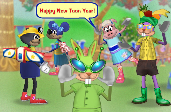 A Stylish Start to the New Toon Year