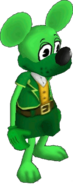 Green toon