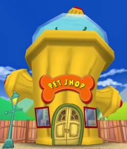 Toontown Central Pet Shop
