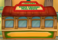 Toontown Three Squares Meal House