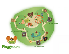 Toontown Library Location