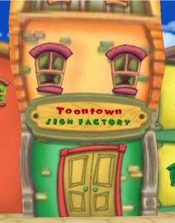 Toontown Sign Factory