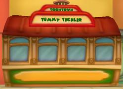 Toontown Tummy Tickler